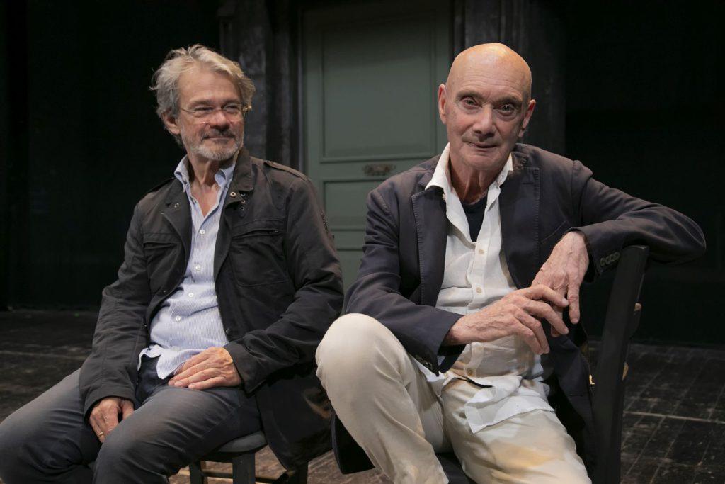 Enzo Vetrano e Stefano Randisi nella regia di Lu cori non 'nvecchia